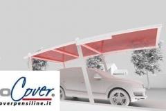 box auto cover car render